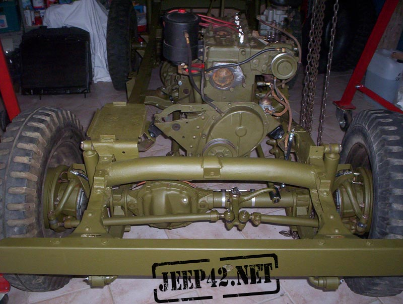 Remontage Jeep Willys