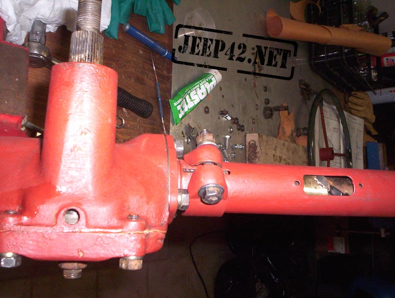 Restauration direction Jeep Willys