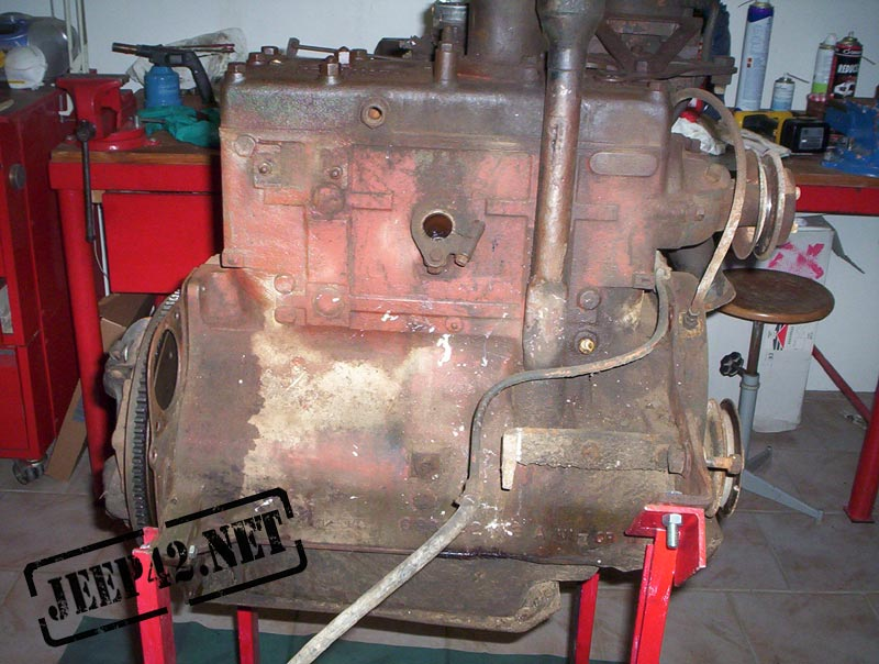 Restauration moteur Jeep Willys